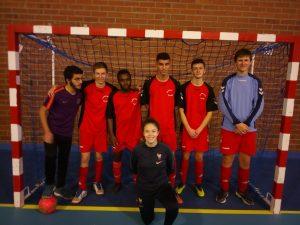 Équipe 3eme au championnat départemental UNSS spécial LP